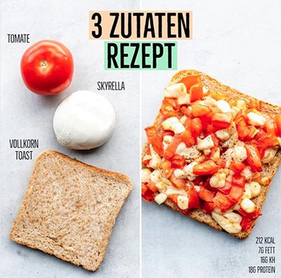 10 Snacks unter 300 Kalorien - Gesunde Snack Rezepte