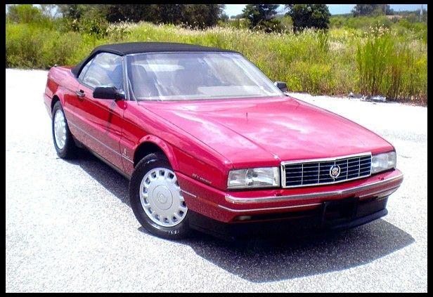1993 cadillac allante 4 6l 51 000 miles cadillac allante regular rh pinterest com