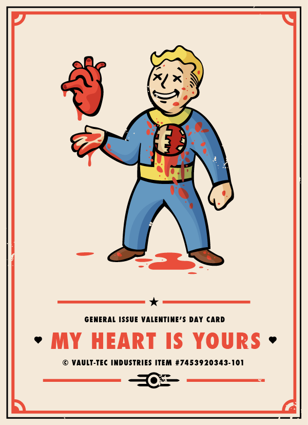 2015 Vday Card Png By Alex Griendling Fallout Art Fallout Posters Fallout Game