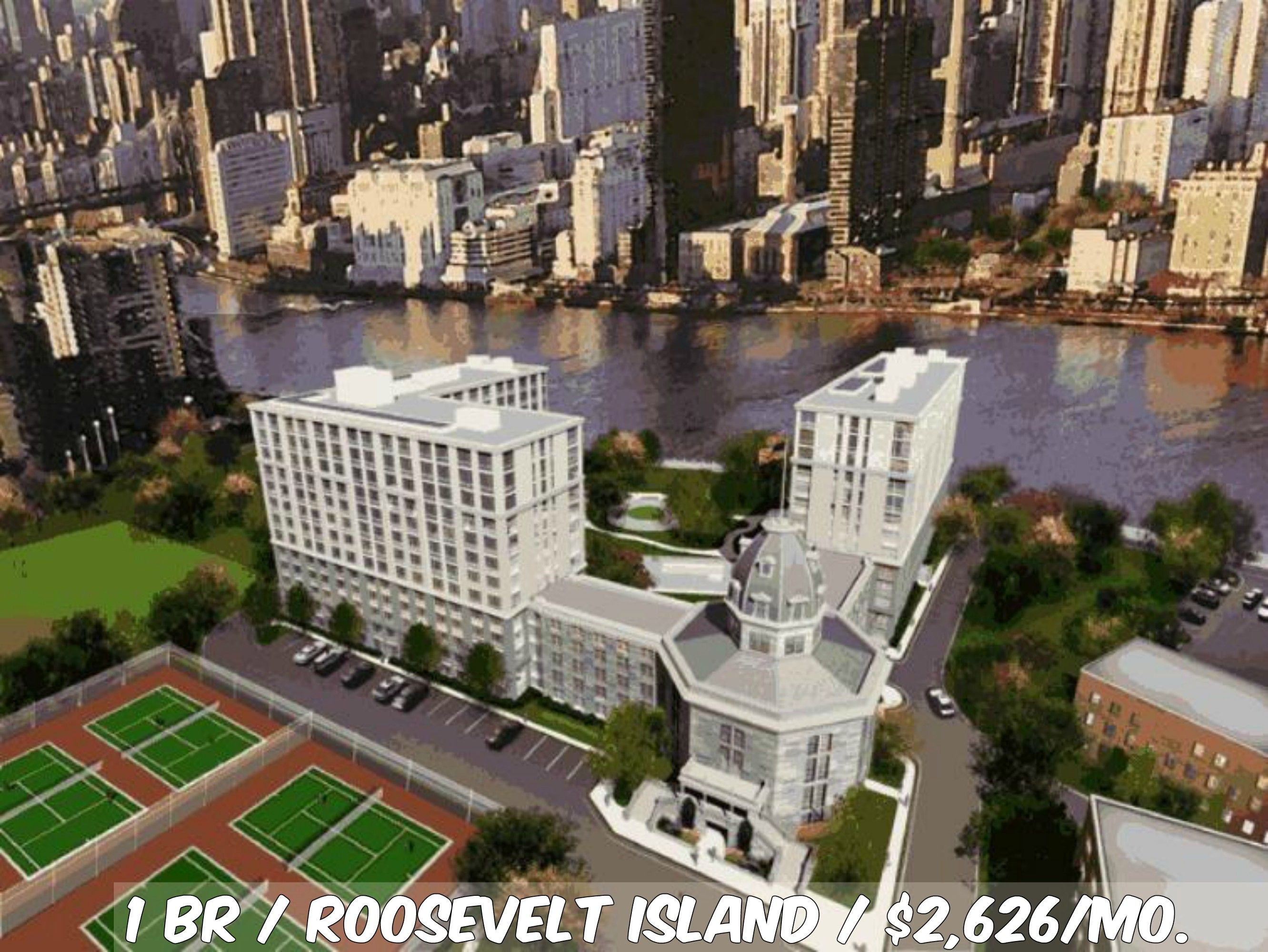 1 Br Apt For In Roosevelt Island At 2 626 Mo Doorman Elevator