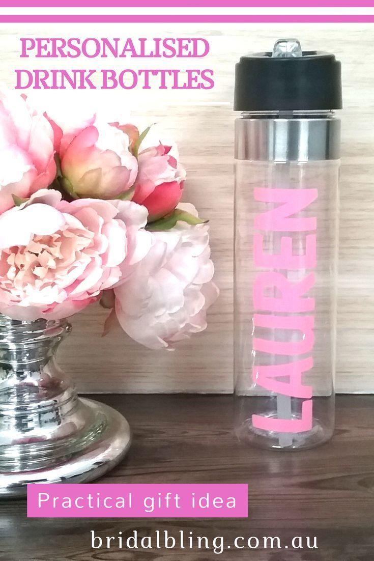Personalised Gifts Ideas : Personalised drink bottle wedding drink ...