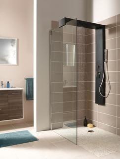 nouveaut s colonne douche noire pour walk in magasin de bricolage brico d p t de martigues. Black Bedroom Furniture Sets. Home Design Ideas
