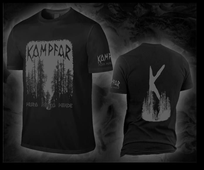 "KAMPFAR ""muro muro minde"" deep black T-Shirt"