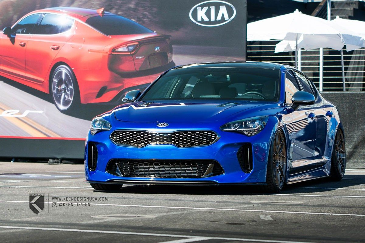 The New Keendesign Kia Stinger Gt Blends Style With Performance Kia Stinger Kia Kia Motors