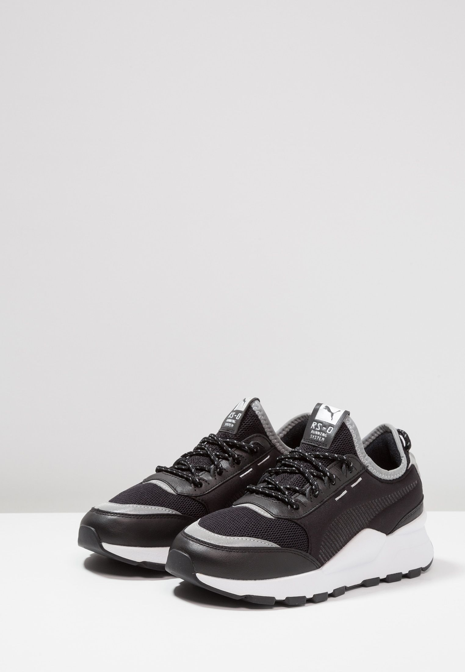 32f7be238de5 RS-0 OPTIC POP - Trainers - puma black puma silver   Zalando.co.uk ...
