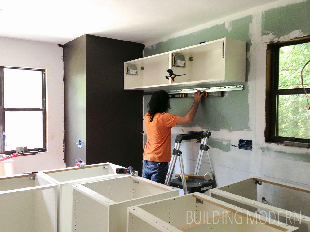 Ikea Kitchen Cabinet Installation Kitchen Design Ideas Dark