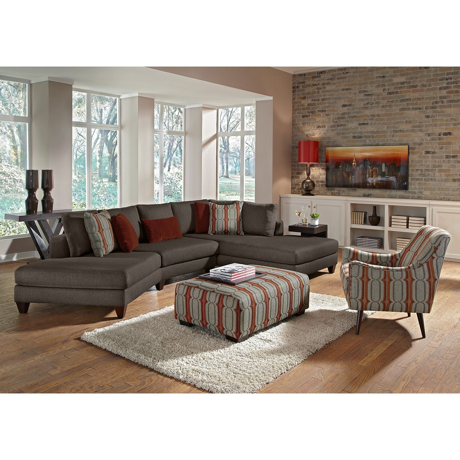 Elan Upholstery 2 Pc Sectional Value City Furniture