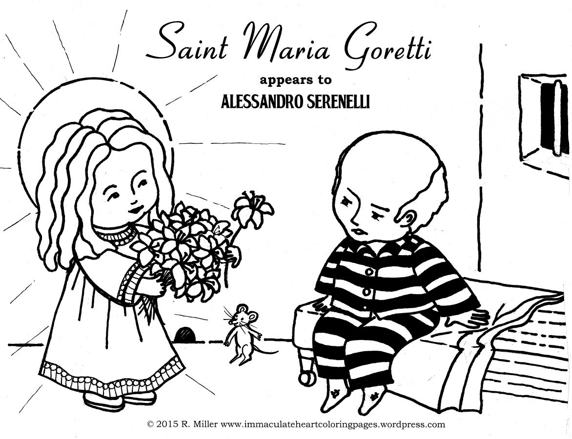 The Little Saint of Great Mercy   St maria goretti, St maria and ...