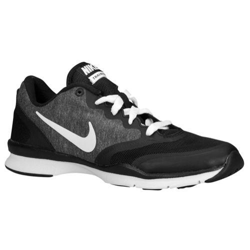Nike In Season Tr 4 Womens Black Grey White Sneakers