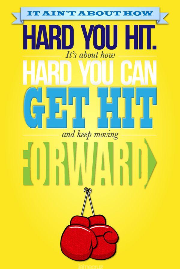 Rocky S Speech By Jaime Cruz Via Behance Keep Moving Forward Quotes Moving Forward Quotes Inspirational Quotes