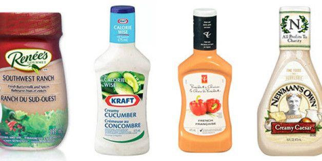 Sodium In Creamy Salad Dressings, Ranked