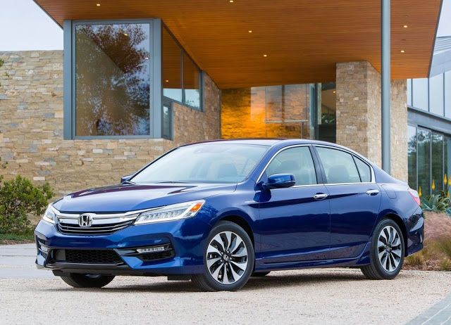This Is The All New Hybrid Version From The Honda Accord This