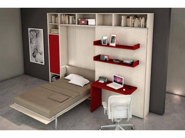 armadio mobile letto a scomparsa estraibile trasformabi … - Foto 4 ...
