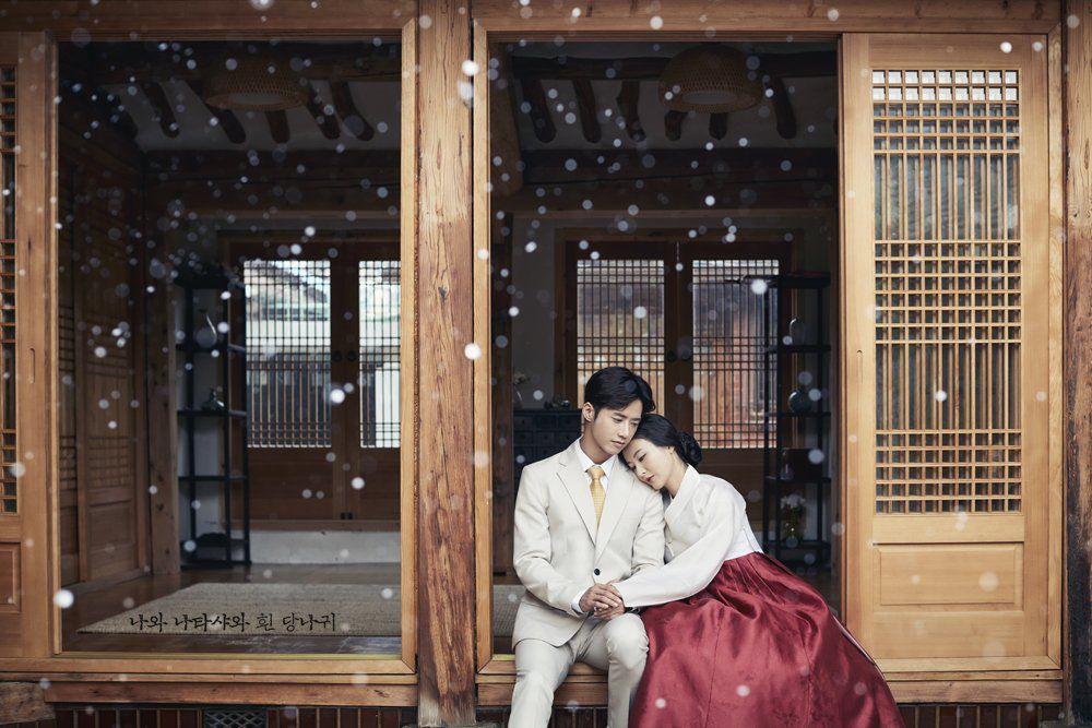 뮤지컬 나와나타샤와흰당나귀 컨셉사진 백석役오종혁&자야役 최주리