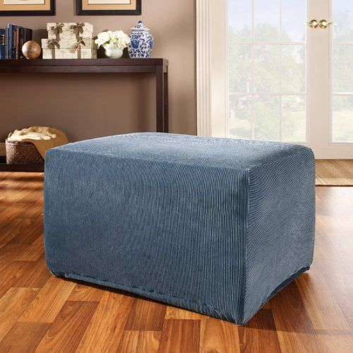 Ottoman Slipcover Dining Room Chair