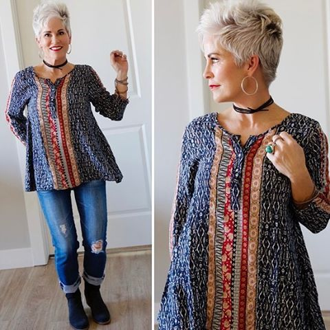 1 579 Likes 160 Comments Shauna Chicover50 On Instagram Feeling The Boho Chic Ness Vibes