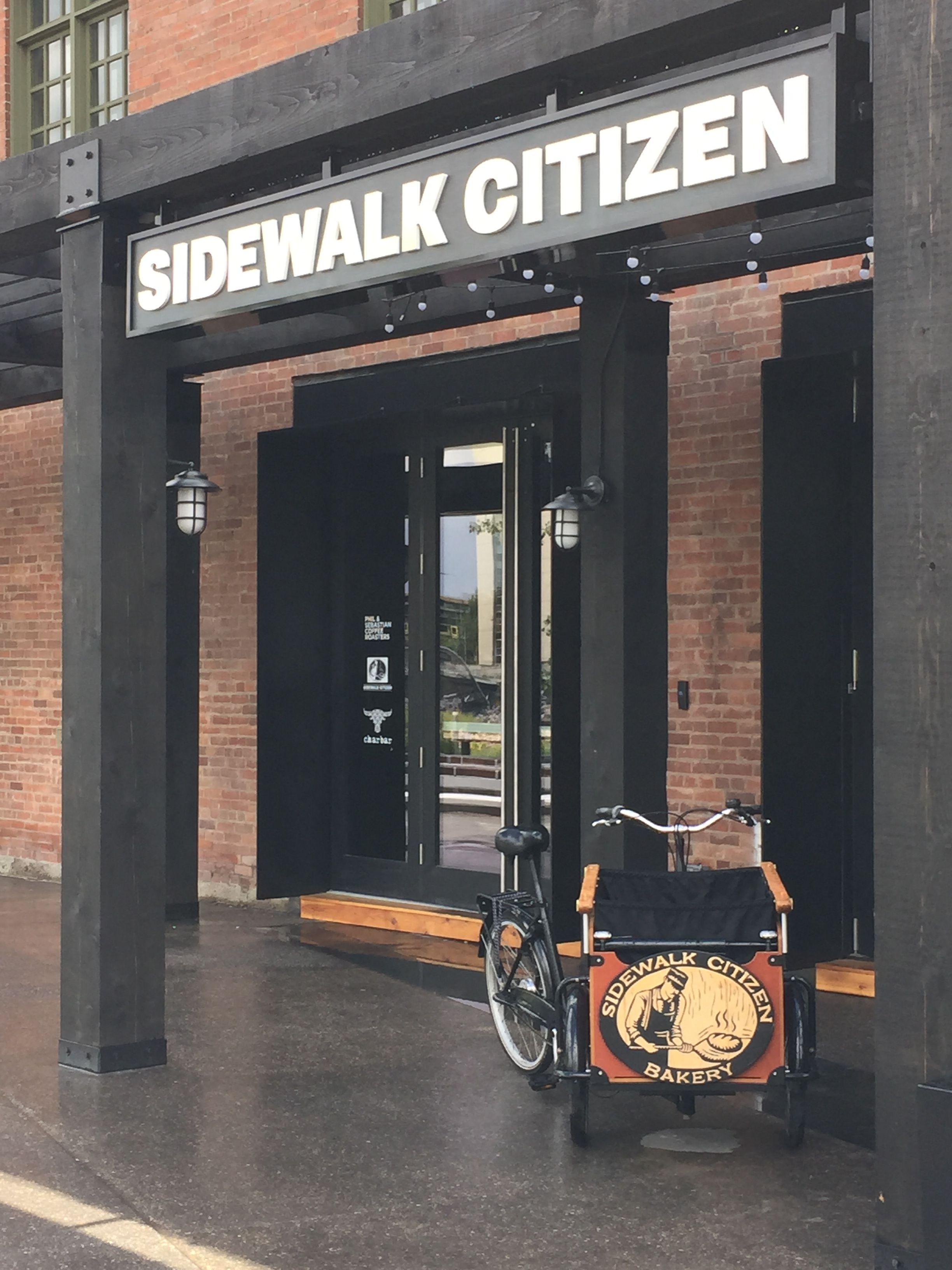 The Sidewalk Citizen Bakery is NOW open in Downtown