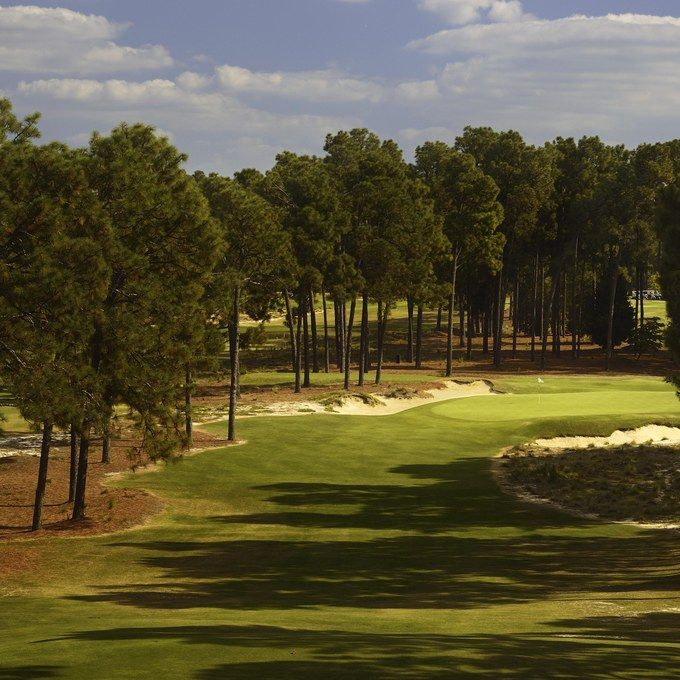 No. 2 Course, Pinehurst, North Carolina, USA.