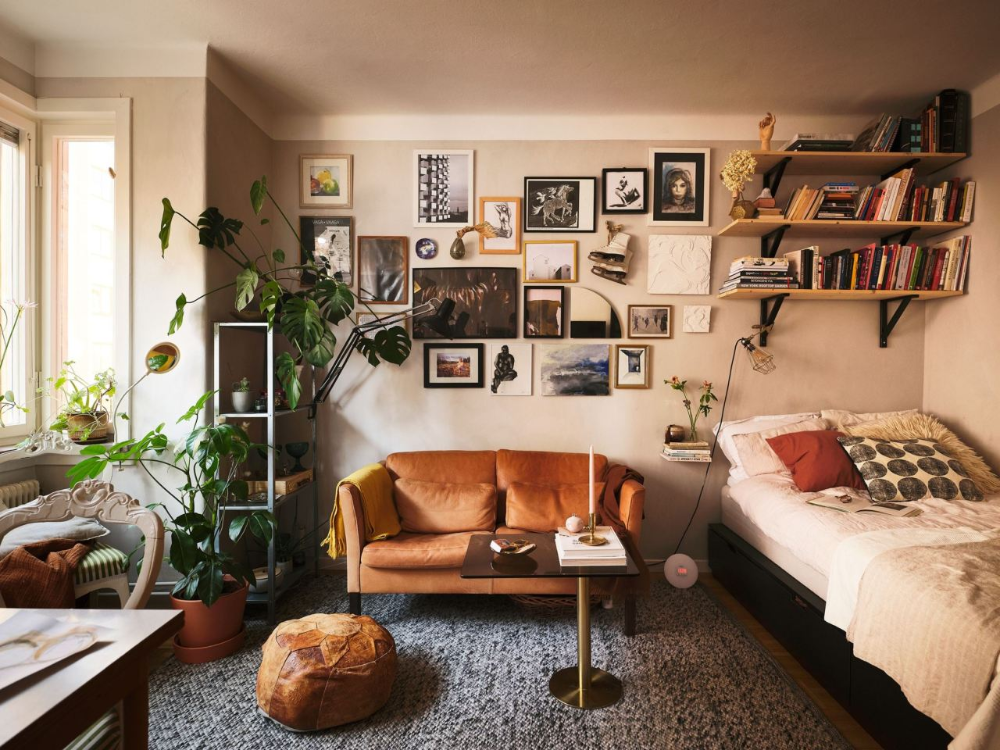 Pin by Sam Lucas on Apartment Ideas in 2020 | Cozy studio ...