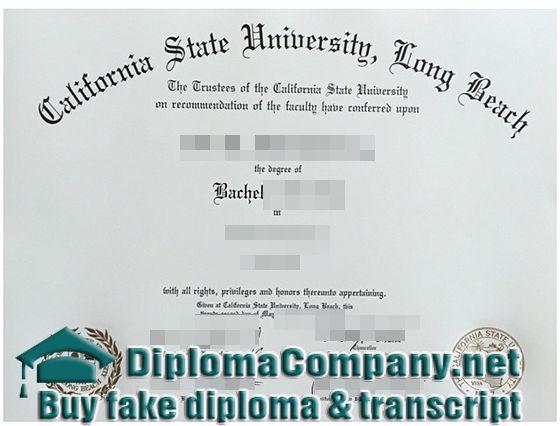 buy fake CSULB diploma, California State University long beach fake ...