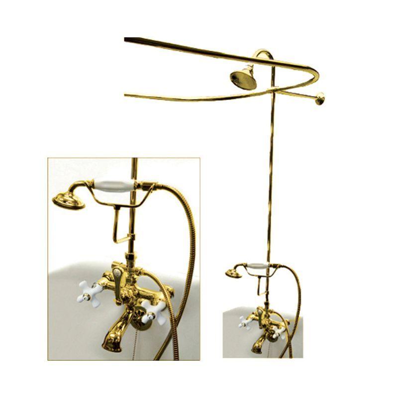 Kingston Brass Cck114 Px Clawfoot Tub Shower Tub Shower