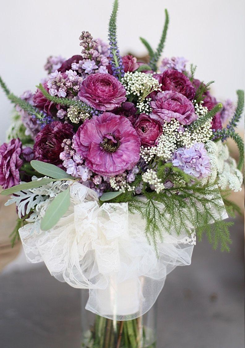 Dusky Summer wedding bouquet flowers Pinterest