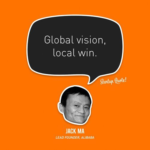 Global Vision Local Win Jack Ma Alibabagroup Cobrand