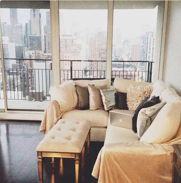 Apartment Meaning: Exactly What I Mean: A Sectional, With An Upholstered