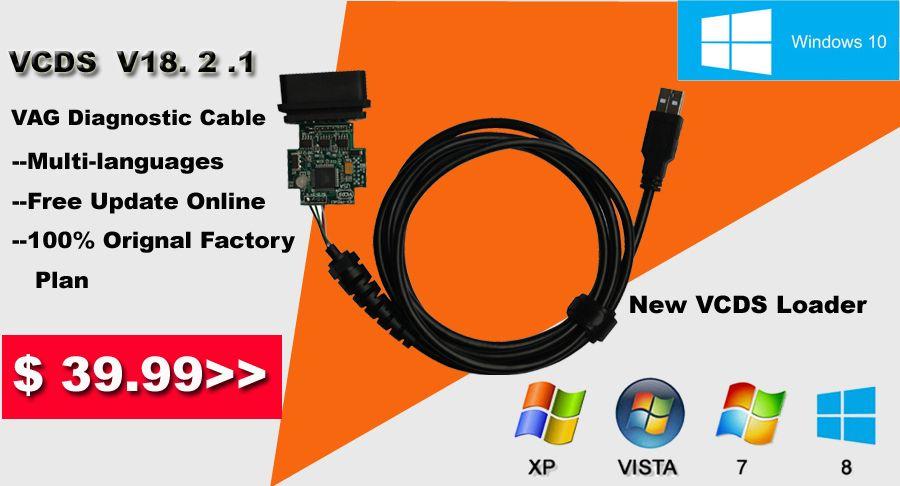 VCDS 18 2 1 Crack Cable Update Online Ross Tech VAG COM VCDS