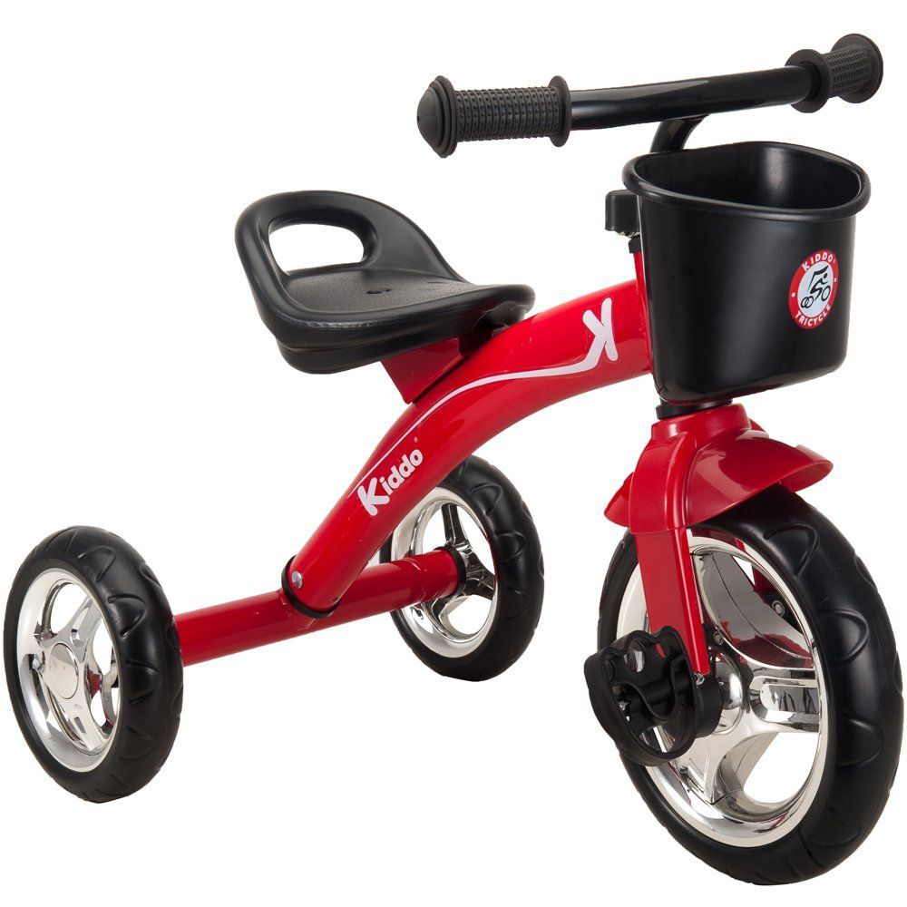 Kiddo Red 3 Wheeler Smart Design Kids Child Children Trike Tricycle Ride-On Bike 2-5 Years New - Red: Amazon.co.uk: Sports & Outdoors