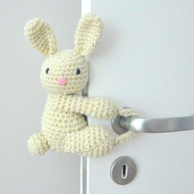 Tranca - Portas Coelho Bunny | Amigurumi | Pinterest