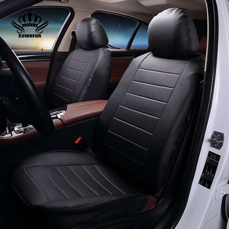 35$ Know more - Luxury PU Leather Auto Universal 4 color Car Seat ...