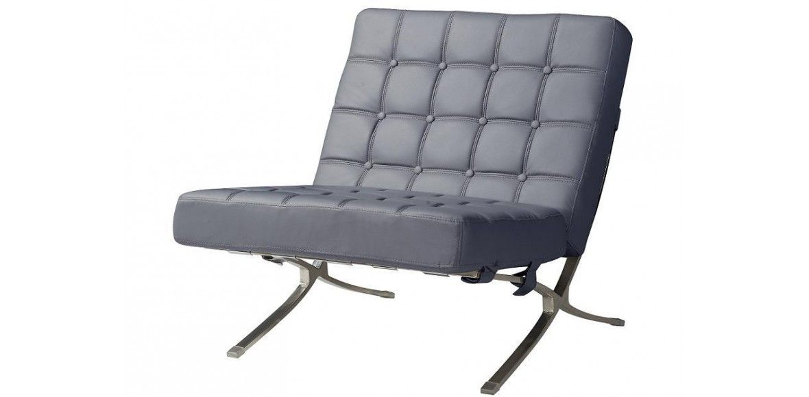 Stupendous Pin By Sofacouchs On Leather Sofa Grey Leather Chair Machost Co Dining Chair Design Ideas Machostcouk