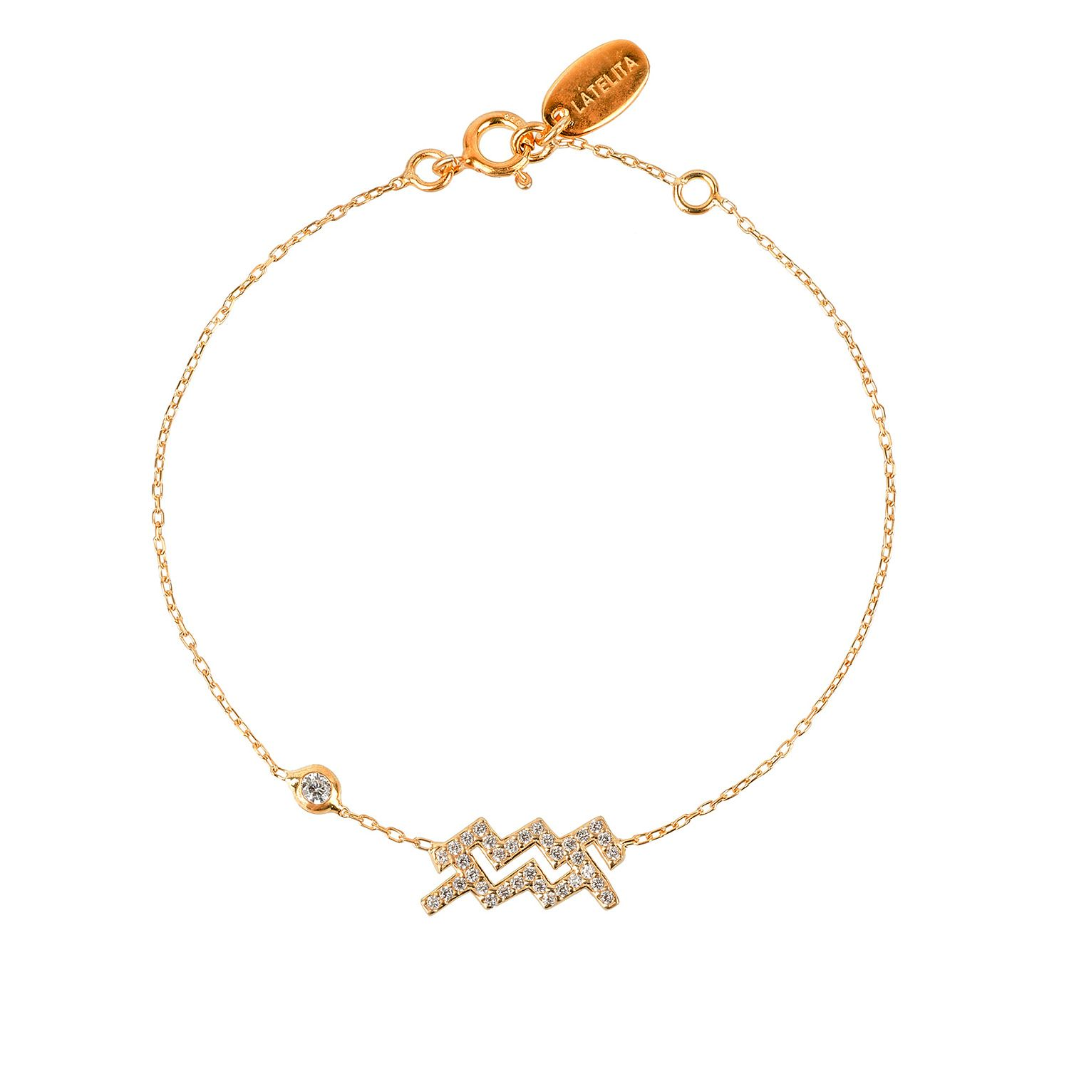 Zodiac bracelet gold aquarius aquarius zodiac and bracelets