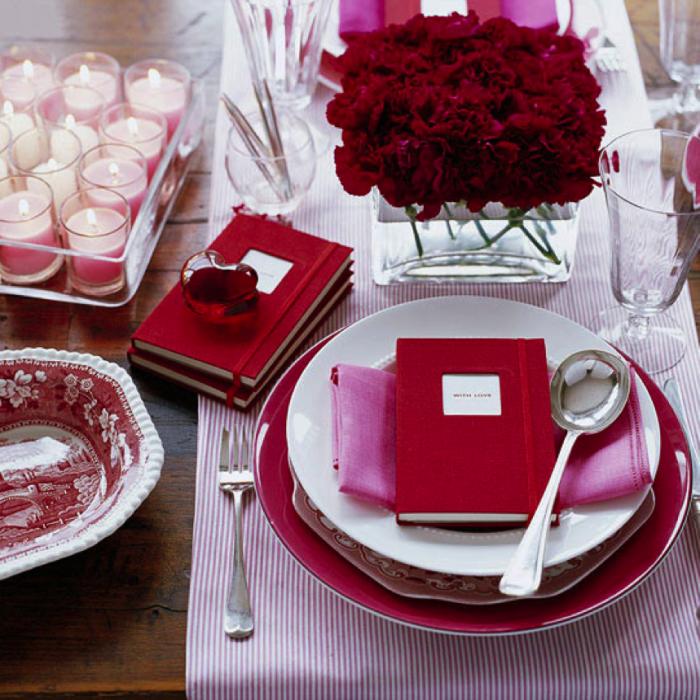 fresa y russian red para un ambiente de caperucita roja