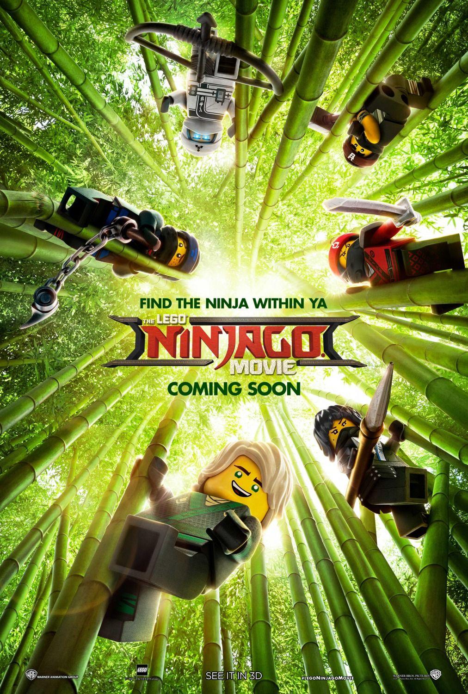New Movie Posters For The Lego Ninjago Movie Lego Ninjago