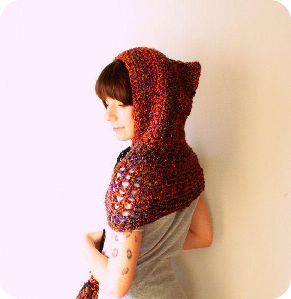 Pin de fati là en crochet scarves, hats, shawls | Pinterest | Puntos