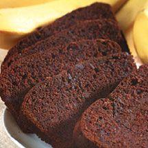Chocolate Banana Bread from Godiva, too delicious~