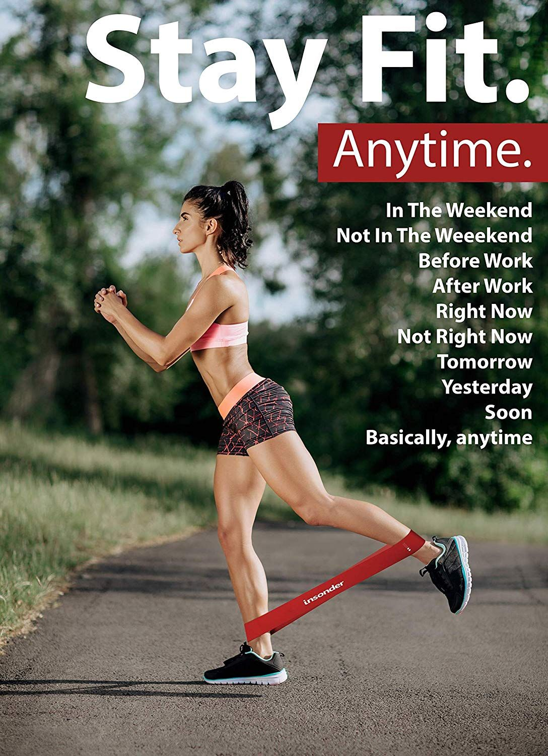 A Loop Resistance Band increases the effectiveness of your exercises enormously. Exercises like jump...