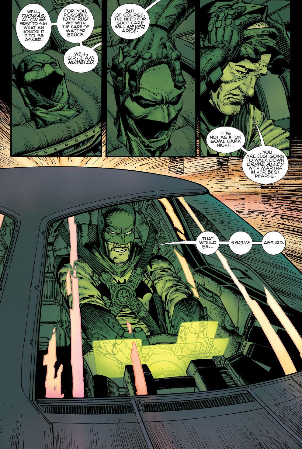 Alfred pennyworth as batman rebirth comicnewbies
