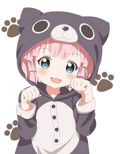 Anime Girl Kawaii Neko AnimeManga Chibi