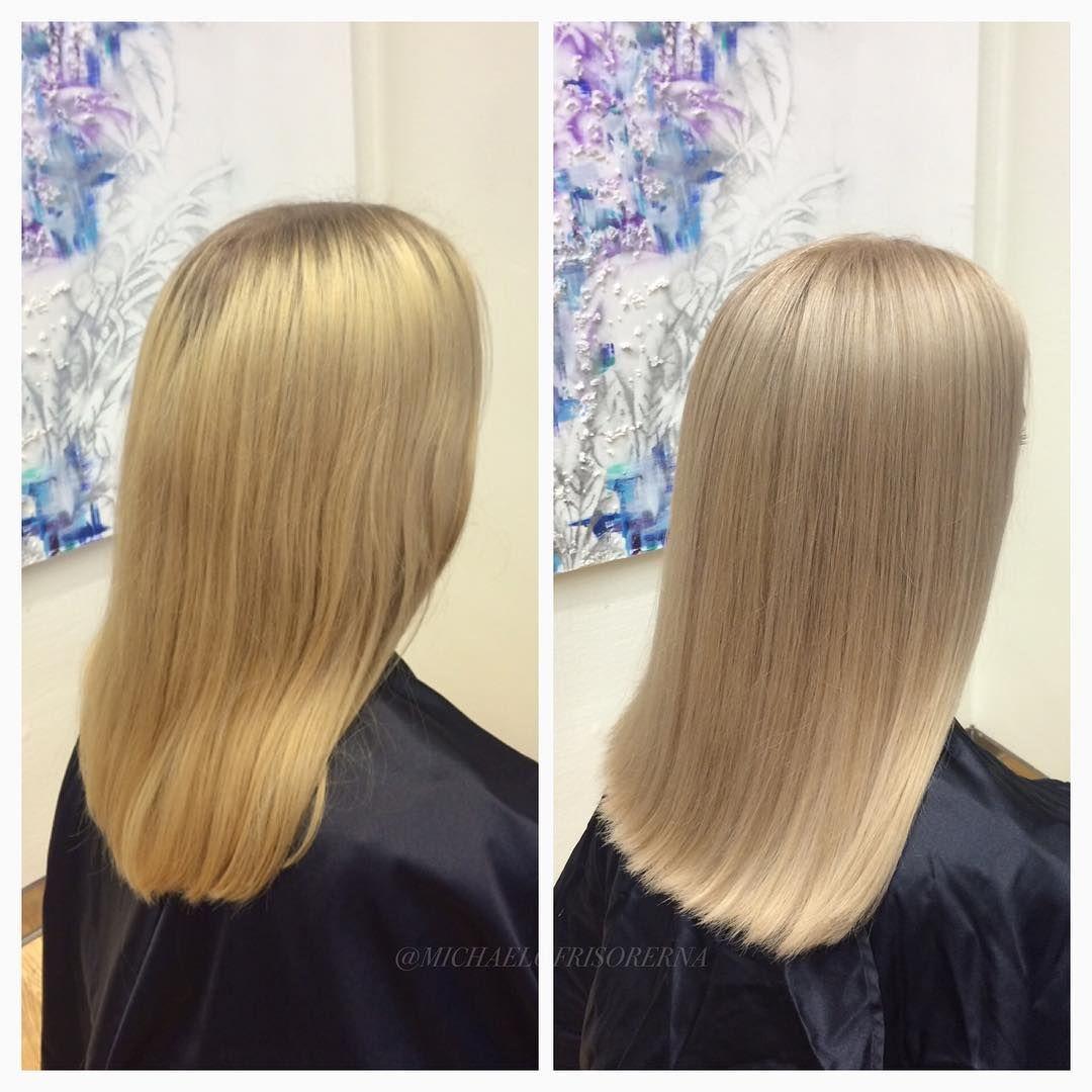 askblond toning hår