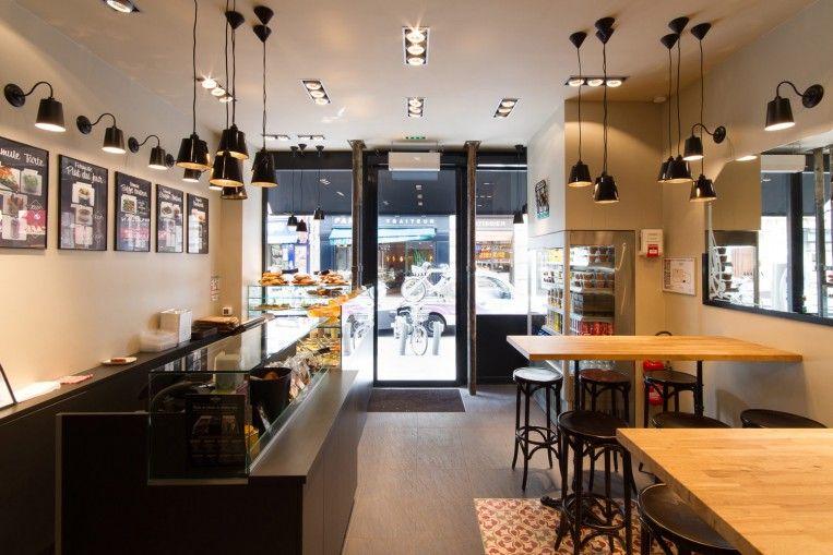 Lucien saint lazare archipelles paris agency restaurant interior architecture and design - Restaurant saint lazare paris ...