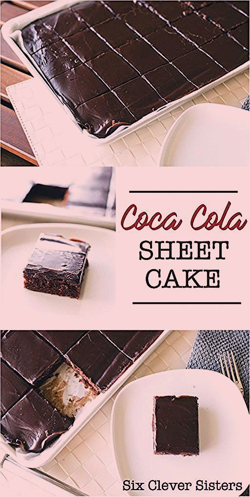 Photo of Coca Cola Sheet Cake – Six Clever Sisters