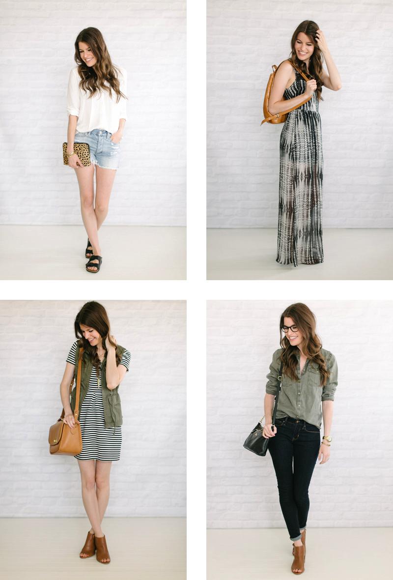 Caroline's 37-Piece Capsule Wardrobe + Creative Process
