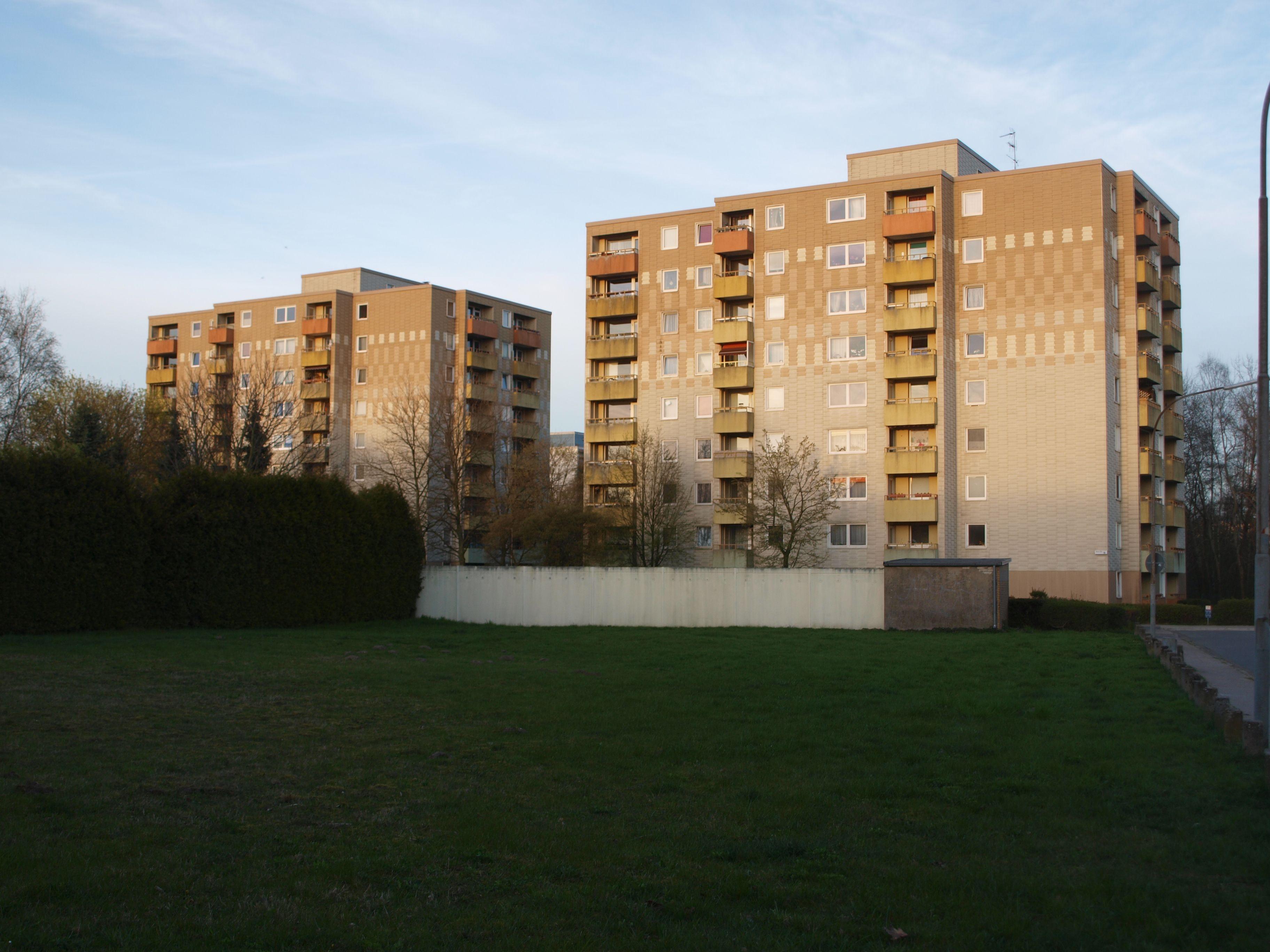 Hochhäuser im Stadtteil Nordost