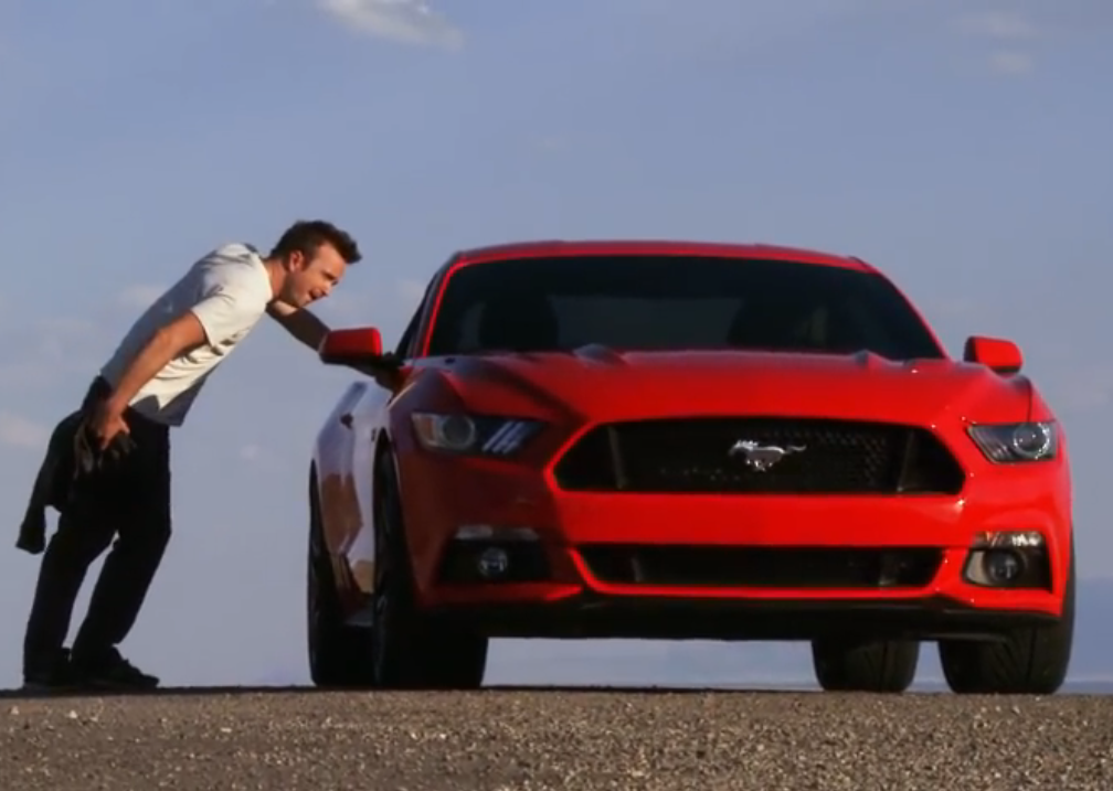All New 2015 Ford Mustang To Make Big Screen Debut In Need For Speed Movie Video Carhoots 2015 Ford Mustang Need For Speed Ford Mustang