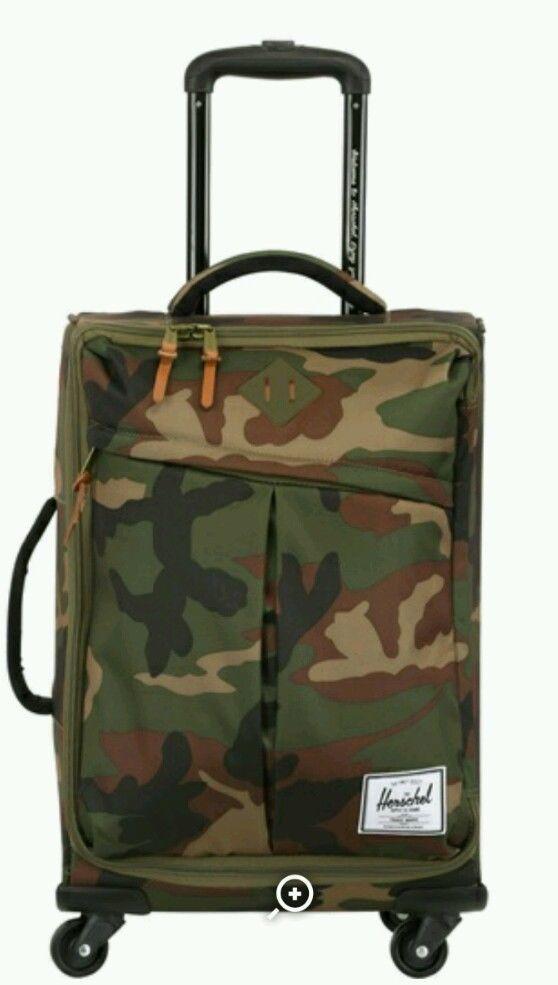 f14685e2b47 Herschel Supply Parcel Rolling Gear Bag Woodland Camo One Size in Travel