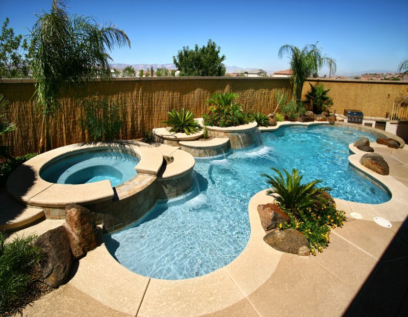 95 Stunning Pool Designs And Ideas To Inspire Your Next Project Pool Designs Backyard Pool Landscaping Backyard Pool