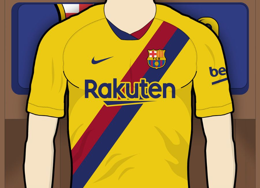 BARCELONE Away Shirt 2019//20